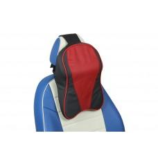 Подушка под шею из натуральной кожи (JZ-01)