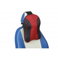 Подушка под шею из натуральной кожи (JZ-02)
