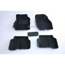 Ворсовые 3D коврики Boratex для NISSAN ALMERA CLASSIC 2005-2012