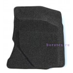 Ворсовые автомобильные 3D коврики Boratex для автомобиля DATSUN MI-DO
