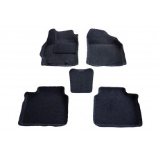 Ворсовые 3D коврики Boratex для TOYOTA COROLLA 2013-