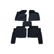 Ворсовые 3D коврики Boratex для HYUNDAI SANTA FE FL (II) 2010 -