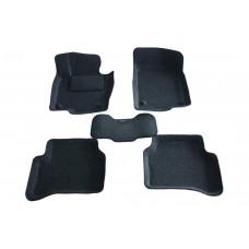 Ворсовые 3D коврики Boratex для VOLKSWAGEN PASSAT B7 2011-
