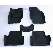 Ворсовые 3D коврики Boratex для PEUGEOT 408 2012 -
