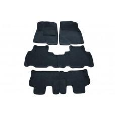 Ворсовые 3D коврики Boratex для TOYOTA HIGHLANDER 2013 -