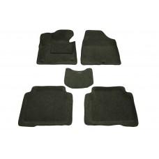Ворсовые автомобильные 3D коврики Boratex для автомобиля HYUNDAI SANTA FE