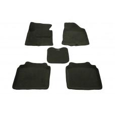 Ворсовые 3D коврики Boratex для HYUNDAI I40 2011-