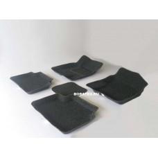 Ворсовые автомобильные 3D коврики Boratex для автомобиля CHERY TIGGO
