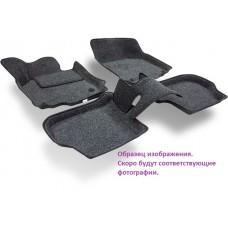 Ворсовые автомобильные 3D коврики Boratex для автомобиля LADA Largus (Ларгус)