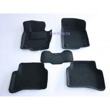 Ворсовые 3D коврики Boratex для VOLKSWAGEN PASSAT B6 2005-2011