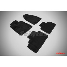 Ворсовые 3D коврики SeiNtex для Acura MDX 2014-н.в.