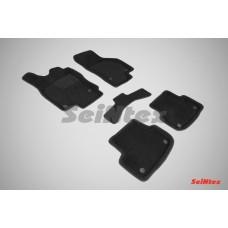 Ворсовые 3D коврики SeiNtex для AUDI A3 2012 - н.в.