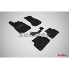 Ворсовые 3D коврики SeiNtex для AUDI A4 (B9) 2015-н.в.