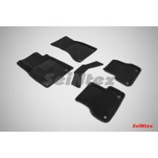 Ворсовые 3D коврики SeiNtex для Audi A6 (С7) 2011-н.в.