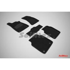 Ворсовые 3D коврики SeiNtex для Audi A8 III (D4) 2010-н.в.