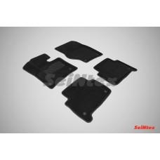 Ворсовые 3D коврики SeiNtex для Audi Q7 2005-2015
