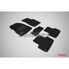 Ворсовые 3D коврики SeiNtex для Audi Q7 II 2015-н.в.