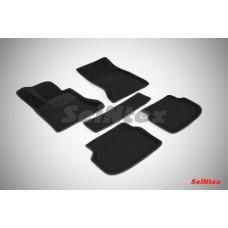 Ворсовые 3D коврики SeiNtex для BMW 5-ser F10 2009-2013
