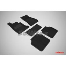 Ворсовые 3D коврики SeiNtex для BMW 7-ser G-12 2015-н.в.