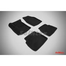 Ворсовые 3D коврики SeiNtex для Chevrolet Aveo I 2003-2011