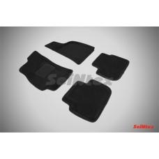 Ворсовые 3D коврики SeiNtex для Chevrolet Lanos 2005-2009