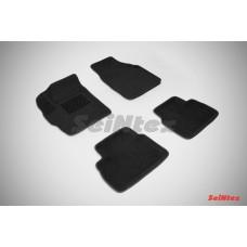 Ворсовые 3D коврики SeiNtex для Daewoo Matiz 1998-2015
