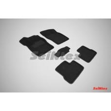 Ворсовые автомобильные 3D коврики SeiNtex для автомобиля Daewoo Nexia 1994-2016