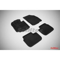 Ворсовые 3D коврики SeiNtex для Fiat Sedici 2005-2014