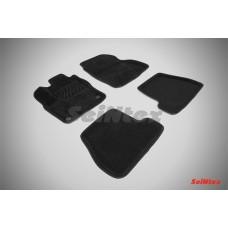 Ворсовые 3D коврики SeiNtex для Ford Focus III МКПП 2011-2015