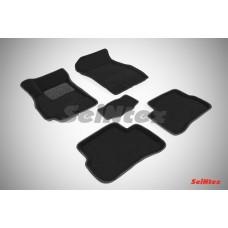 Ворсовые 3D коврики SeiNtex для Hyundai Accent 1999-2012