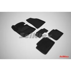 Ворсовые 3D коврики SeiNtex для KIA Cee'd 2012-н.в.
