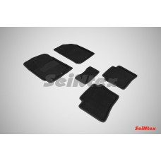 Ворсовые 3D коврики SeiNtex для KIA Rio 2011-2017