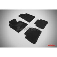 Ворсовые 3D коврики SeiNtex для KIA Sorento 2012-2015