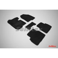 Ворсовые 3D коврики SeiNtex для KIA Sportage III 2010-2015