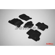 Ворсовые 3D коврики SeiNtex для Land Rover Discovery IV 2009-2017