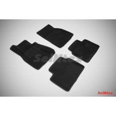 Ворсовые автомобильные 3D коврики SeiNtex для автомобиля Lexus LS 2006-н.в.