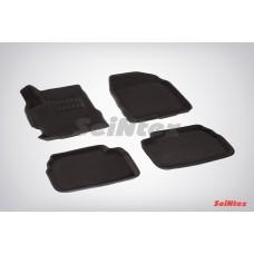 Ворсовые 3D коврики SeiNtex для Mazda 3 2009-2013