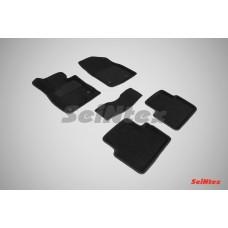 Ворсовые 3D коврики SeiNtex для Mazda 3 2013-н.в.
