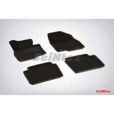 Ворсовые 3D коврики SeiNtex для Mazda 6 new 2012-н.в.