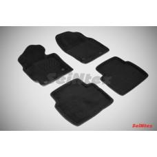 Ворсовые 3D коврики SeiNtex для Mazda CX-5 I 2012-2017