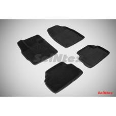 Ворсовые 3D коврики SeiNtex для Mazda CX-7 2006-2012