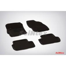 Ворсовые 3D коврики SeiNtex для Mitsubishi Lancer X 2007-н.в.