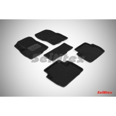 Ворсовые 3D коврики SeiNtex для Mitsubishi Outlander III 2012-н.в.