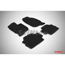 Ворсовые 3D коврики SeiNtex для Mitsubishi Pajero Sport 2008-2015