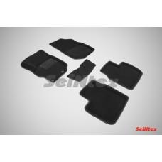 Ворсовые 3D коврики SeiNtex для Peugeot 301 2013-н.в.