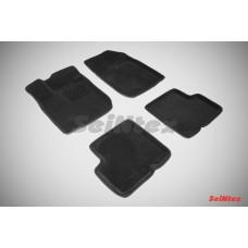 Ворсовые 3D коврики SeiNtex для Renault Fluence 2010-н.в.