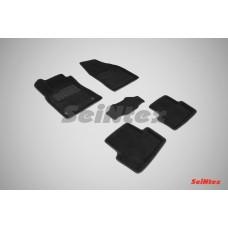 Ворсовые 3D коврики SeiNtex для Renault Megane 2008-2016
