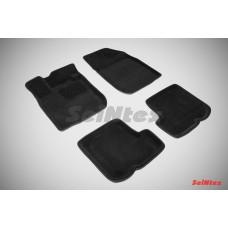 Ворсовые 3D коврики SeiNtex для Renault Sandero 2010-2014