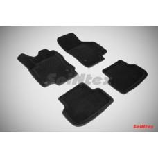 Ворсовые 3D коврики SeiNtex для Seat Leon III 2013-н.в.