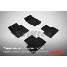 Ворсовые 3D коврики SeiNtex для Skoda Superb II 2008-2015